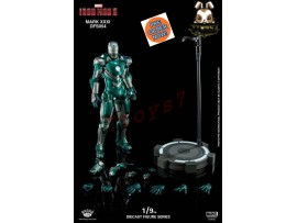 [Pre-order] King Arts 1/9 DFS054 Iron Man 3 - Iron Man Mark XXXI Piston_ Diecast Box _KR067Z