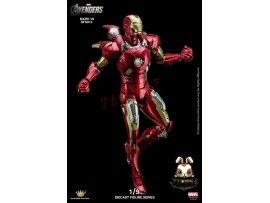 King Arts 1/9 DFS013 Avengers Age of Ultron Iron Man Mark 7_ Diecast Box _KR030Z