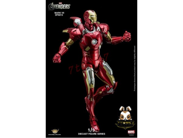 King Arts 1/9 DFS013 Avengers Age of Ultron Iron Man Mark 7_ Diecast Box _KR030Z