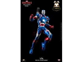 King Arts 1/9 DFS004 Iron Man Iron Patriot_ Diecast Box Set _Movie Now KR027Z