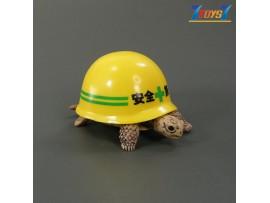 Kitan Club Helmet Turtle #1 Yellow _Minifigure Diorama KI007A