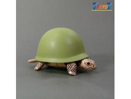 Kitan Club Helmet Turtle #3 Green _Minifigure Diorama KI007C