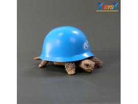 Kitan Club Helmet Turtle #4 Blue _Minifigure Diorama KI007D