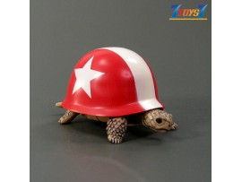 Kitan Club Helmet Turtle #5 Red _Minifigure Diorama KI007E