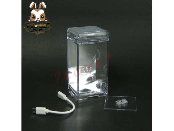 Legend Studio Master Mini House LED Light Stage_ Display Case _figurine LS010A