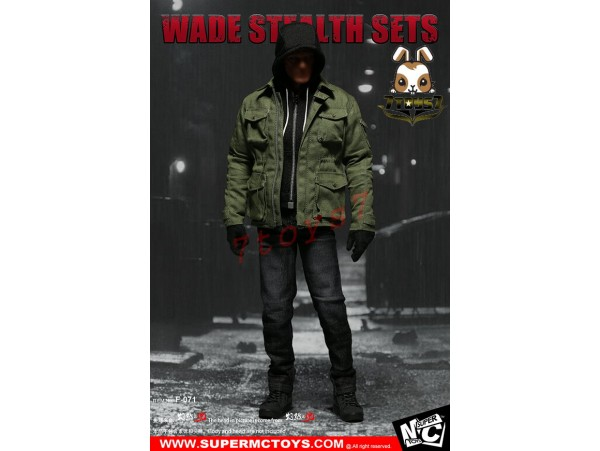 Super MC Toys 1/6 F-071 Wade Stealth_ Costume Sets _Magic Cube Now ZZ105H