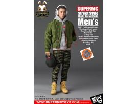 [Pre-order] Super MC Toys 1/6 F-075 Street Style Flight Jacket Sets_ Men Set _Magic Cube ZZ105K