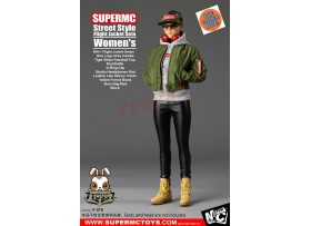 [Pre-order] Super MC Toys 1/6 F-076 Street Style Flight Jacket Sets_ Women Set _Magic Cube ZZ105L
