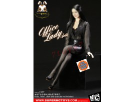 [Pre-order] Super MC Toys 1/6 F-077 Office Lady Sets_ Costume Sets _Magic Cube _ZZ105N