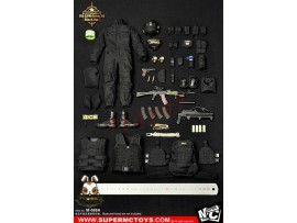 Super MC Toys 1/6 M-069A Russian Spetsnaz - FSB Alfa Group 3.0_ Black Set _Modern ZZ105D