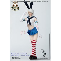 Manmodel 1/6 MM013A Two-dimensional sailor suit rabbit ear suit_ Set A _MM004A