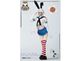 [Pre-order] Manmodel 1/6 MM013A Two-dimensional sailor suit rabbit ear suit_ Set A _MM004A