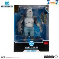 "McFarlane Toys 7"" Suicide Squad - King Shark Gold Label_ Set _DC Comics MFX029F"