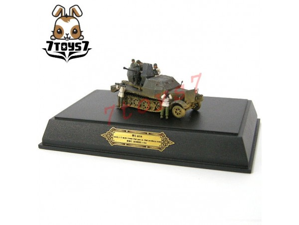 Metal Troops 6114 1/144 sd.kfz. 7.2 w 20mm Flak gun & Falk artillery crew MT007A