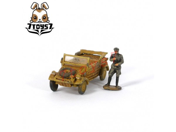 Metal Troops 6117 1/144 Pkw.K1 KUBELWAGEN Type 82 + Crew _Painted Now MT101B