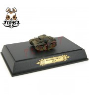 Metal Troops 6118 1/144 Panzer II j with crew _German WWII Painted Now MT007D