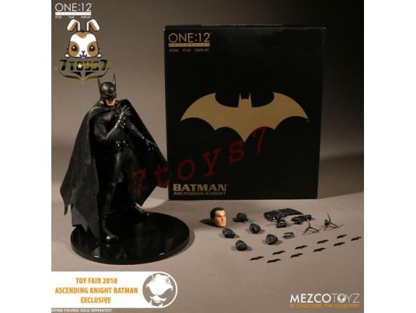 Mezco Toyz 1/12 One:12 Batman Ascending Knight: Toy Fair 2018 Exclusive_ Figure Box Set _New ME012Z