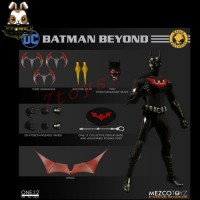 Mezco Toyz 1/12 One:12 Batman Beyond SDCC summer Exclusive_ Figure Box Set _New ME035Z