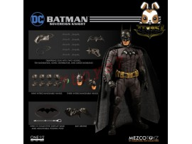 Mezco Toyz 1/12 One:12 Batman Sovereign Knight_ Figure Box Set _DC Now ME017Z