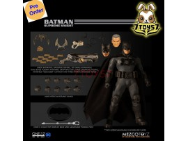 [Pre-order deposit] Mezco Toyz 1/12 One:12 Batman Supreme Knight_ Figure Box Set _DC ME059Z