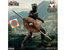 [Pre-order] Mezco Toyz 1/12 Black Panther_ Figure Box Set _Marvel ME004Z