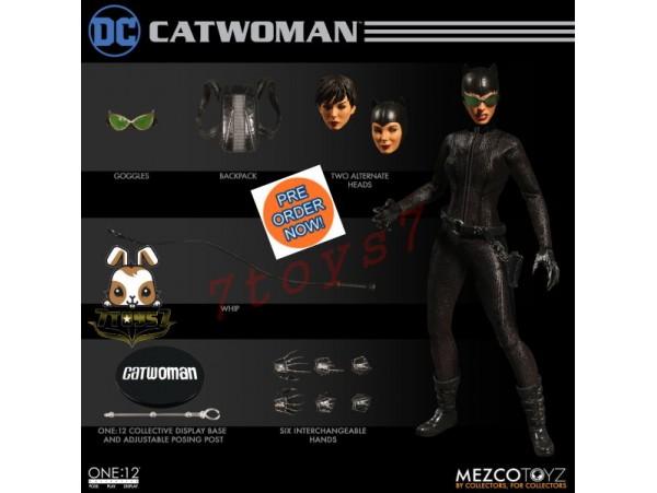 [Pre-order] Mezco Toyz 1/12 Catwoman_ Figure Box Set _DC ME008Z