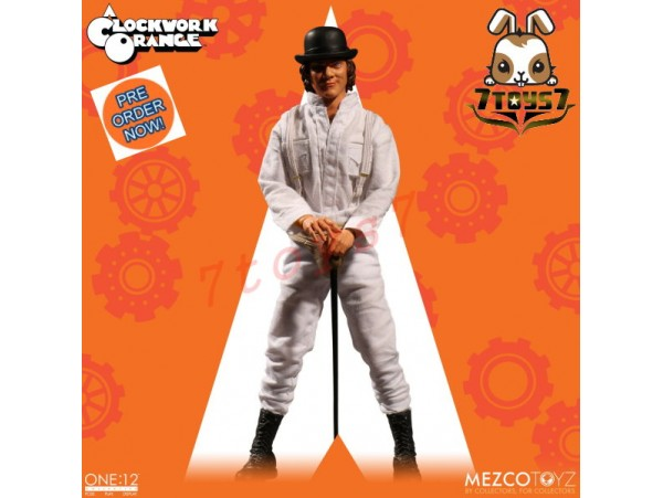 [Pre-order] Mezco Toyz 1/12 A Clockwork Orange_ Figure Box Set _ME002Z