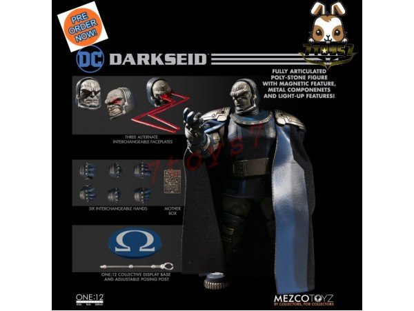 [Pre-order] Mezco Toyz 1/12 One:12 Darkseid_ Figure Box Set _DC ME016Z