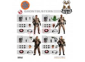 [Pre-order] Mezco Toyz 1/12 Ghostbusters_ Combo Figure Box Set _ME009Z