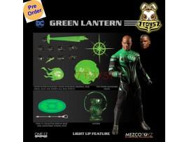 [Pre-order] Mezco Toyz 1/12 One:12 Green Lantern John Stewart_ Figure Box Set _DC ME043Z