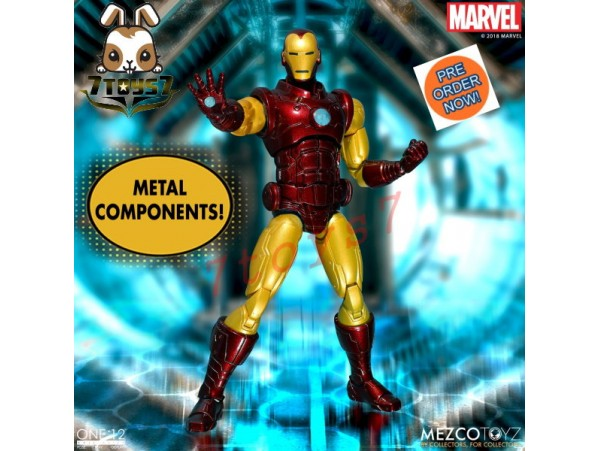 [Pre-order] Mezco Toyz 1/12 Marvel Iron Man_ Box Set _ZZ102T