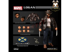 Mezco Toyz 1/12 One:12 Logan_ Figure Box Set _Marvel Now ME022Z