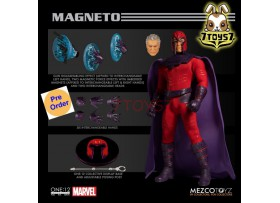 [Pre-order] Mezco Toyz 1/12 One:12 Magneto_ Figure Box Set _ME053Z