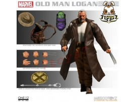 Mezco Toyz 1/12 One:12 Old Man Logan_ Figure Box Set _Marvel ZZ102F