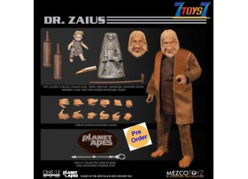 [Pre-order deposit] Mezco Toyz 1/12 ONE:12 Planet Of The Apes: Dr. Zaius_ Box Set _ME074Z