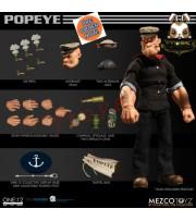 [Pre-order] Mezco Toyz 1/12 One:12 Popeye_ Figure Box Set _ME011Z