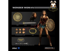 Mezco Toyz 1/12 One:12 DC Wonder Woman_ Figure Box Set _ZZ102K