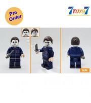 [Pre-order deposit] Minfinity Bricks MF080 Minifigures: Movie Halloween - Michael_ figure _MM014B