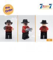 [Pre-order deposit] Minfinity Bricks MF081 Minifigures: Movie Nightmare - Freddy_ figure _MM014A