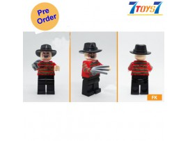 [Pre-order deposit] Minfinity Bricks MF081 Minifigures: Movie Nightmare - Freddy_ figure _MM014A