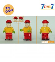 [Pre-order deposit] Minfinity Bricks MF048 Minifigures: Captain Tsubasa - Wakabayashi Genzo_ figure _MM012C