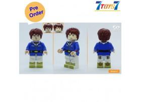 [Pre-order deposit] Minfinity Bricks MF083A Minifigures: Gundam - Amuro Ray_ figure _MM013A