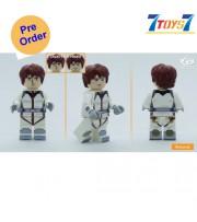 [Pre-order deposit] Minfinity Bricks MF083C Minifigures: Gundam - Amuro Ray Pilot suit_ figure _MM013B