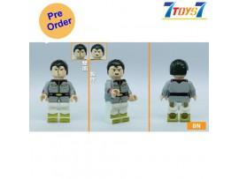 [Pre-order deposit] Minfinity Bricks MF084 Minifigures: Gundam - Bright Noa_ figure _MM013C