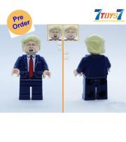[Pre-order deposit] Minfinity Bricks MF074 Minifigures: LeaderTrump_ figure _MM010B