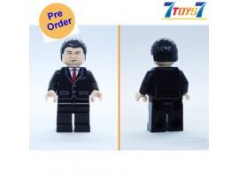 [Pre-order deposit] Minfinity Bricks MF071 Minifigures: Leader Xi_ figure _MM010A