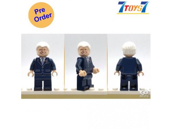 [Pre-order deposit] Minfinity Bricks MF129 Minifigures: Leader Biden_ figure _MM010C
