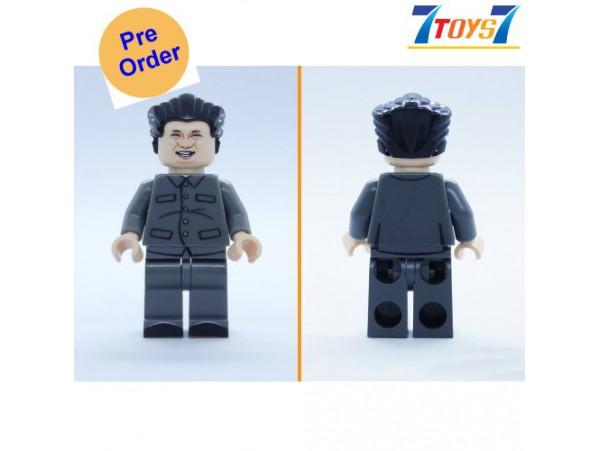 [Pre-order deposit] Minfinity Bricks MF073 Minifigures: Leader Kim_ figure _MM010E
