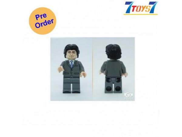 [Pre-order deposit] Minfinity Bricks MF092 Minifigures: Leader Abe_ figure _MM010F