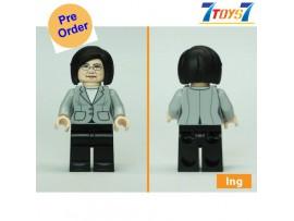 [Pre-order deposit] Minfinity Bricks MF095 Minifigures: Leader Tsai_ figure _MM010G
